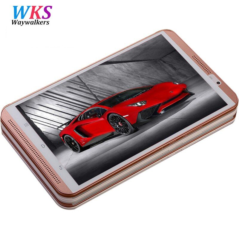 2018 new 8 inch 4G phone call tablet pc Octa Core Android 6.0 4GB RAM 64GB ROM Dual SIM 8.0MP Wifi Bluetooth Smart tablets phone
