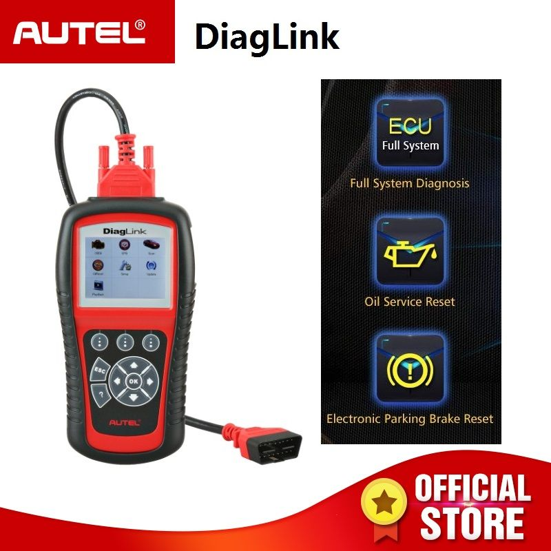 Autel DiagLink OBDII Scan Tool/Code Reader for Engine, ABS, Airbag, Transmission, etc. (New DIY Version of the Autel MD802)