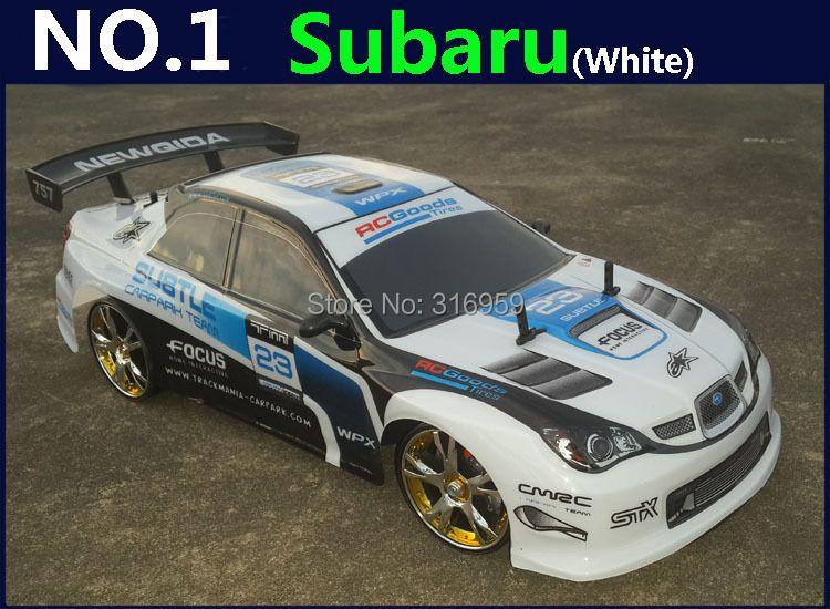 1:10 RC Car High Speed Racing Car 2.4G Subaru 4 Wheel Drive Radio Control Sport Drift Racing Car Model electronic toy