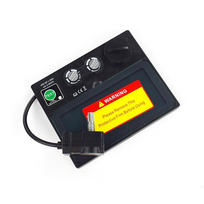 Hohe Qualität Auto Verdunkelung Schweißen Maske Schweißen Helm LI Batterie Solar Schweißen Filter