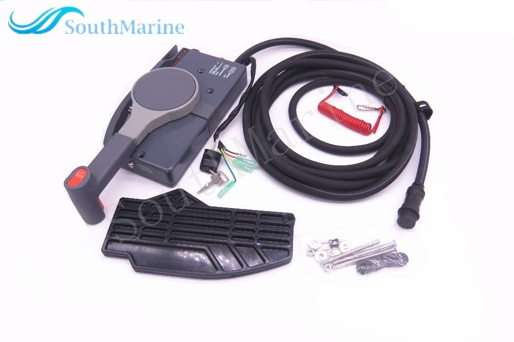 Remote Control Box Assy 703-48230-14 703-48203-15 703-48203-17 703-48203-15 for Yamaha Outboard Engine, 7 Pins AP ER (E) PUSH