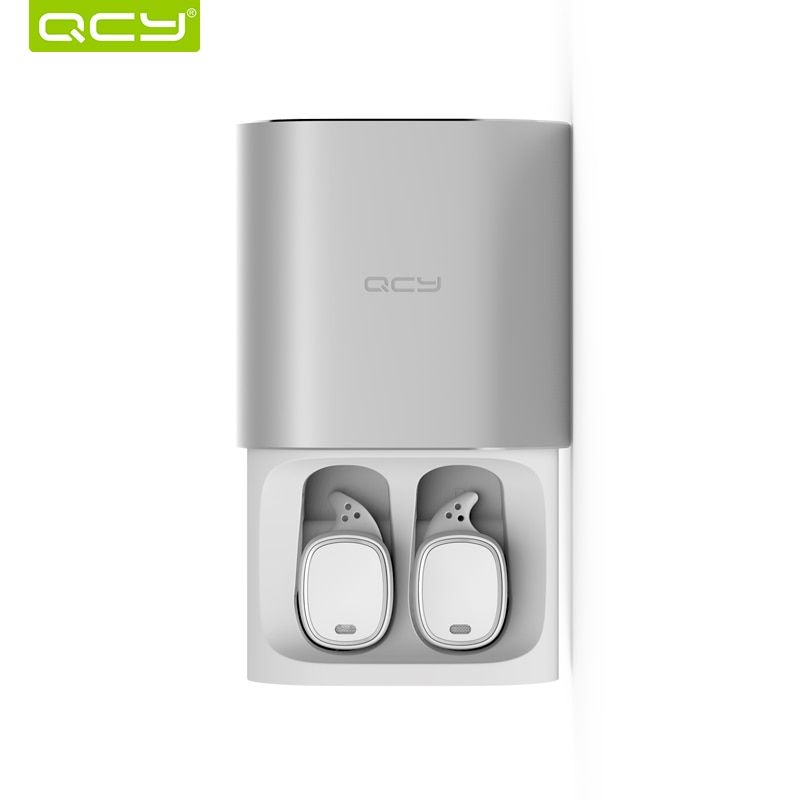 QCY T1 pro TWS business earbuds Bluetooth earphones wireless 3d headphones with microphone <font><b>handsfree</b></font> calls noise cancelling