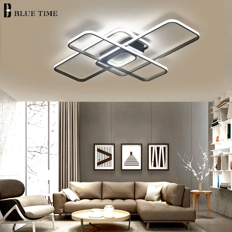 Minimalist Modern LED Ceiling Light For Living room Bedroom Luminaires AC110V 220V Led Chandelier Ceiling Lamp Lighting Fixtures