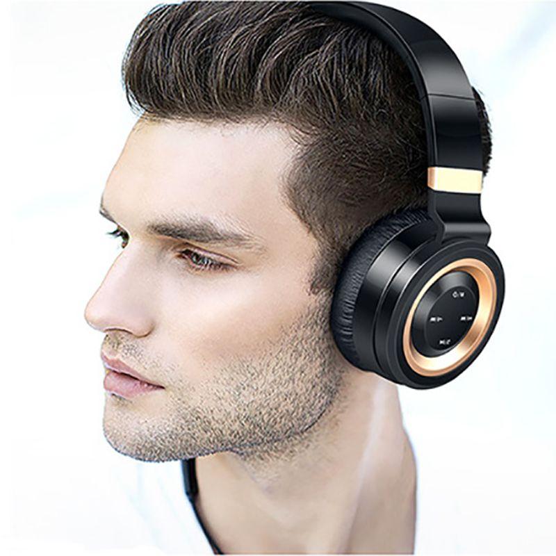 KAPCICE P6 Bluetooth Headphone With Mic Wireless Headphones Support TF Card FM Radio Bass Headset For iPhone Xiaomi PC TV