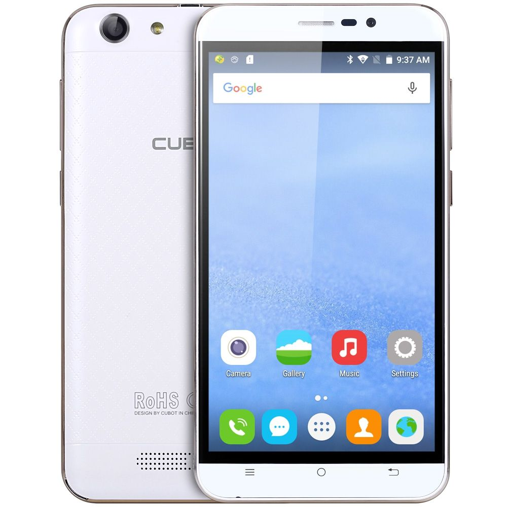 CUBOT Dinosaur 5.5 inch Smartphone Android 6.0 MTK6735 Quad Core Cell Phone 3GB RAM 16GB ROM 13.0MP 1280x720 Mobile Phone