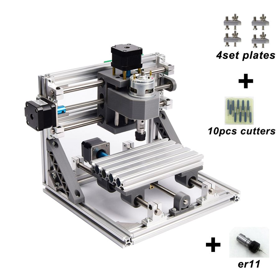 CNC 1610 with ER11,diy cnc engraving machine,mini Pcb Milling Machine,Wood Carving machine,cnc router,cnc1610,best toys gifts