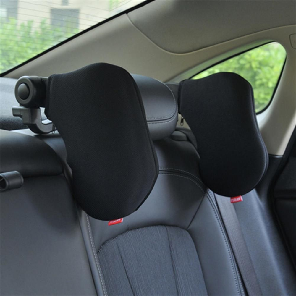 Car-styling Revolving Car Rest Neck Pillow Automobile Auto Seat Pillow Travelling Car Headrest Pillow Black Blue Beige