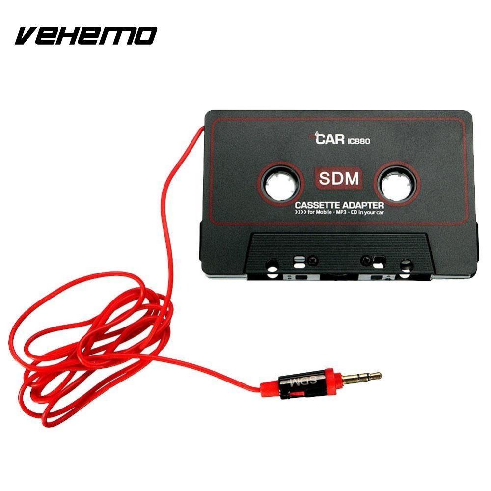 Vehemo Auto Audio-kassette Stereo Adapter Für Telefon CD MD MP3/4 AUX 3,5mm Jack