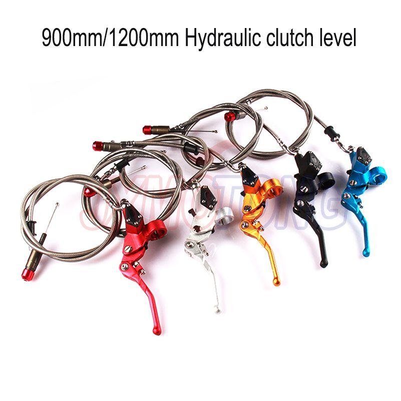 Hydraulic clutch level master cylinder 1200mm fit Motorcycle Dirt bike Pit Bike 125cc-250cc Vertical Engine