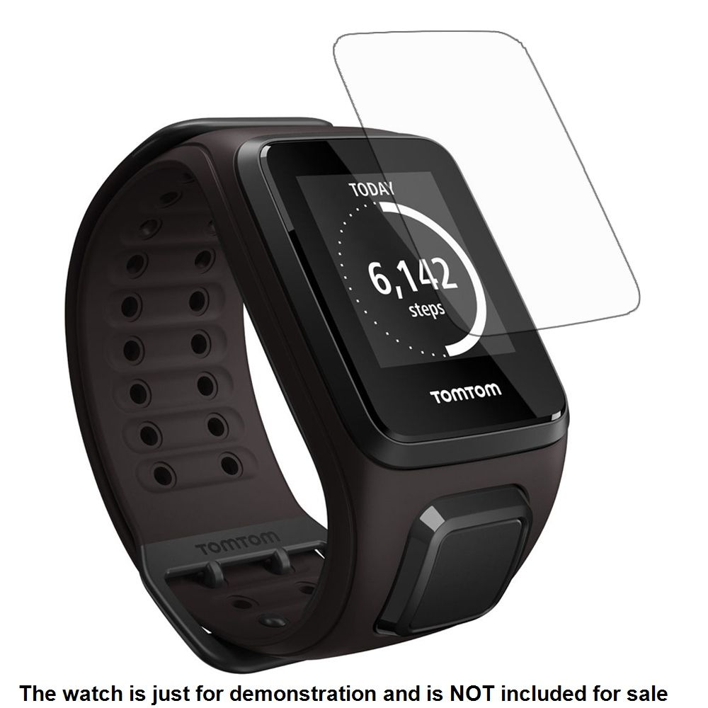 3x Clear LCD Screen Protector Guard Cover Film for TomTom Spark / Runner 3 Cradio Sporting Running GPS Smart Watch Accessories