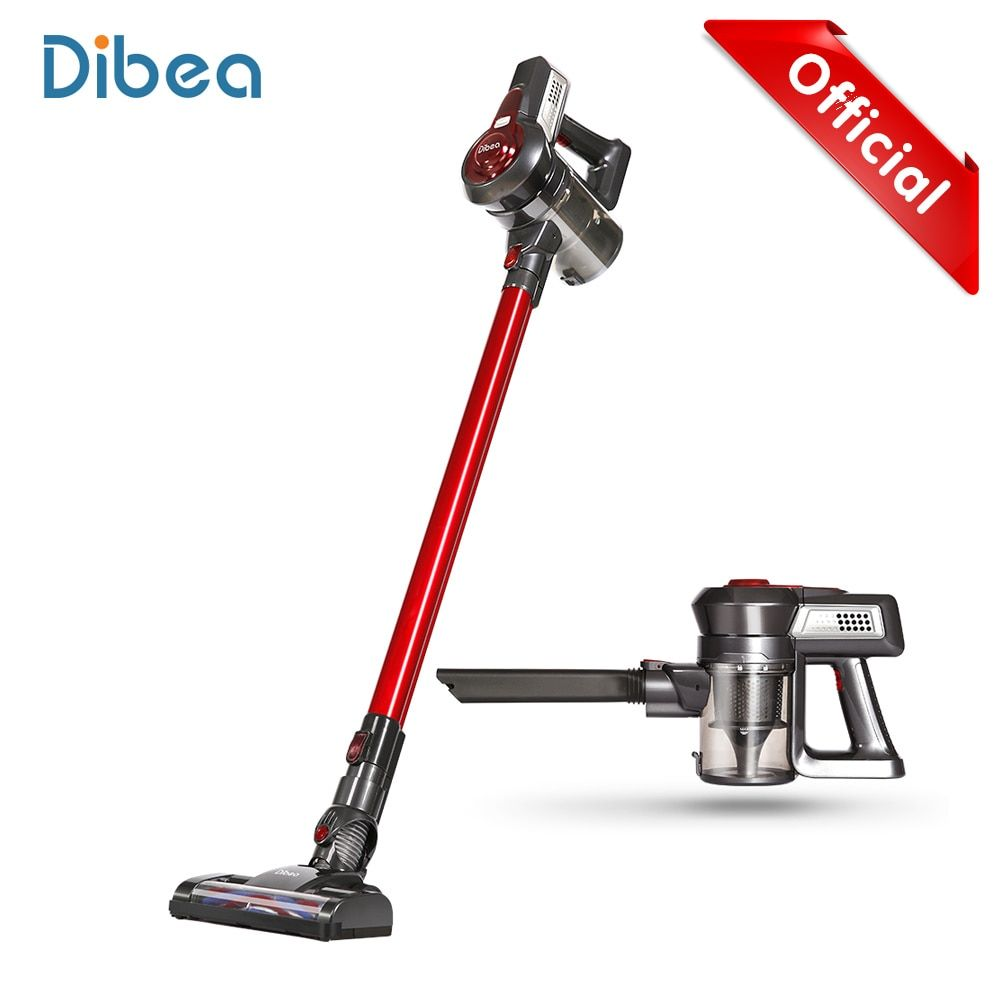 Dibea C17 Portable 2 In1 Handheld Wireless Vacuum Cleaner Dust Collector <font><b>Household</b></font> Aspirator With Docking Station Sweeper