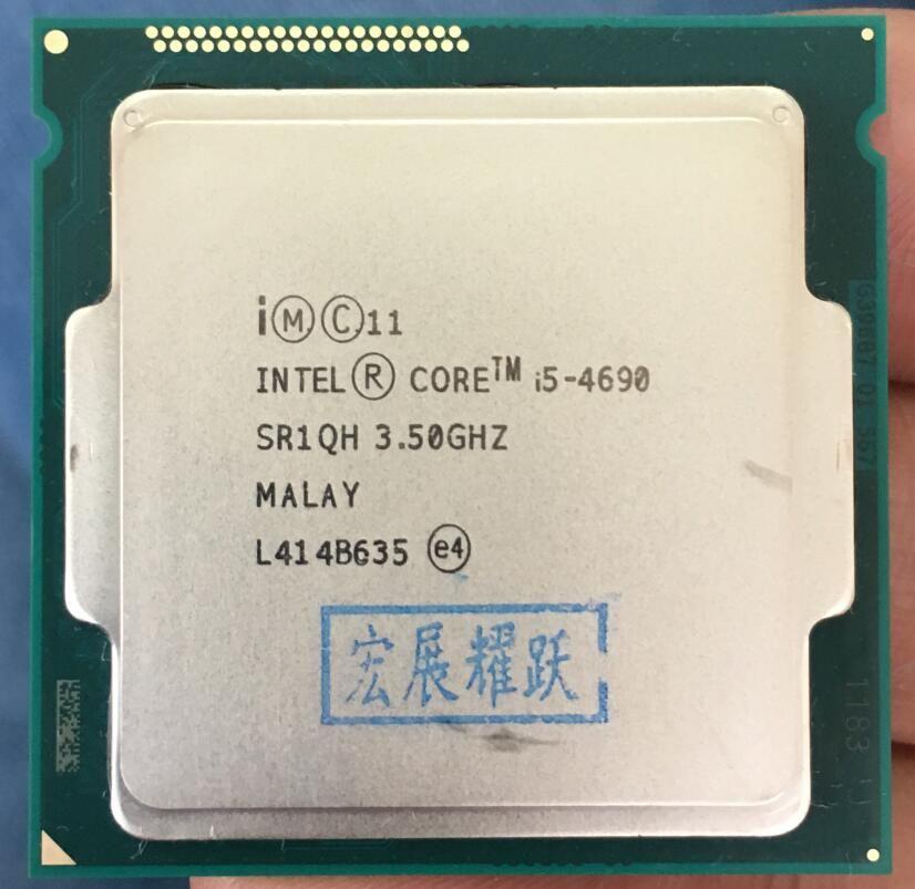 PC computer Intel Core i5-4690 i5 4690 Processor Quad-Core LGA1150 Desktop CPU 100% working properly Desktop Processor