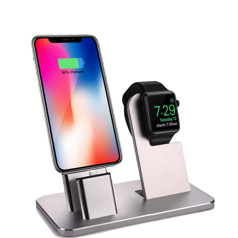 Charing stand Dock Power Station Charger Stand for Apple Watch Series 3/2/1/42MM/38MM ,for iPhone X/8/8 Plus/7/7 Plus/6S/6S Plus