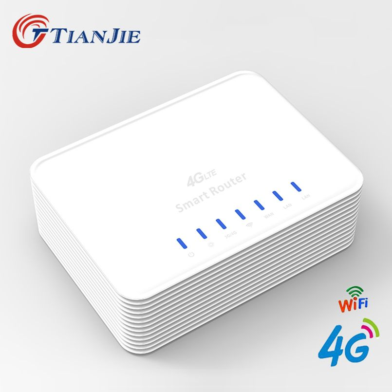 4G Mobile Hotspot Wifi Router 300Mbps Cpe With Sim Card Slot Unlock Modem Broadband 3G 4G Wireless WAN/LAN Port Gateway
