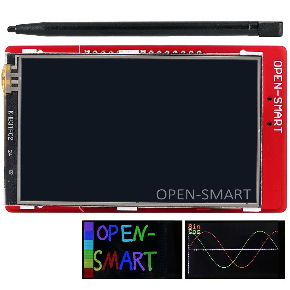3.2 pouce TFT LCD module D'affichage Tactile Écran Bouclier de température embarqué capteur + Stylo pour Arduino UNO R3/Mega 2560 R3/Leonardo