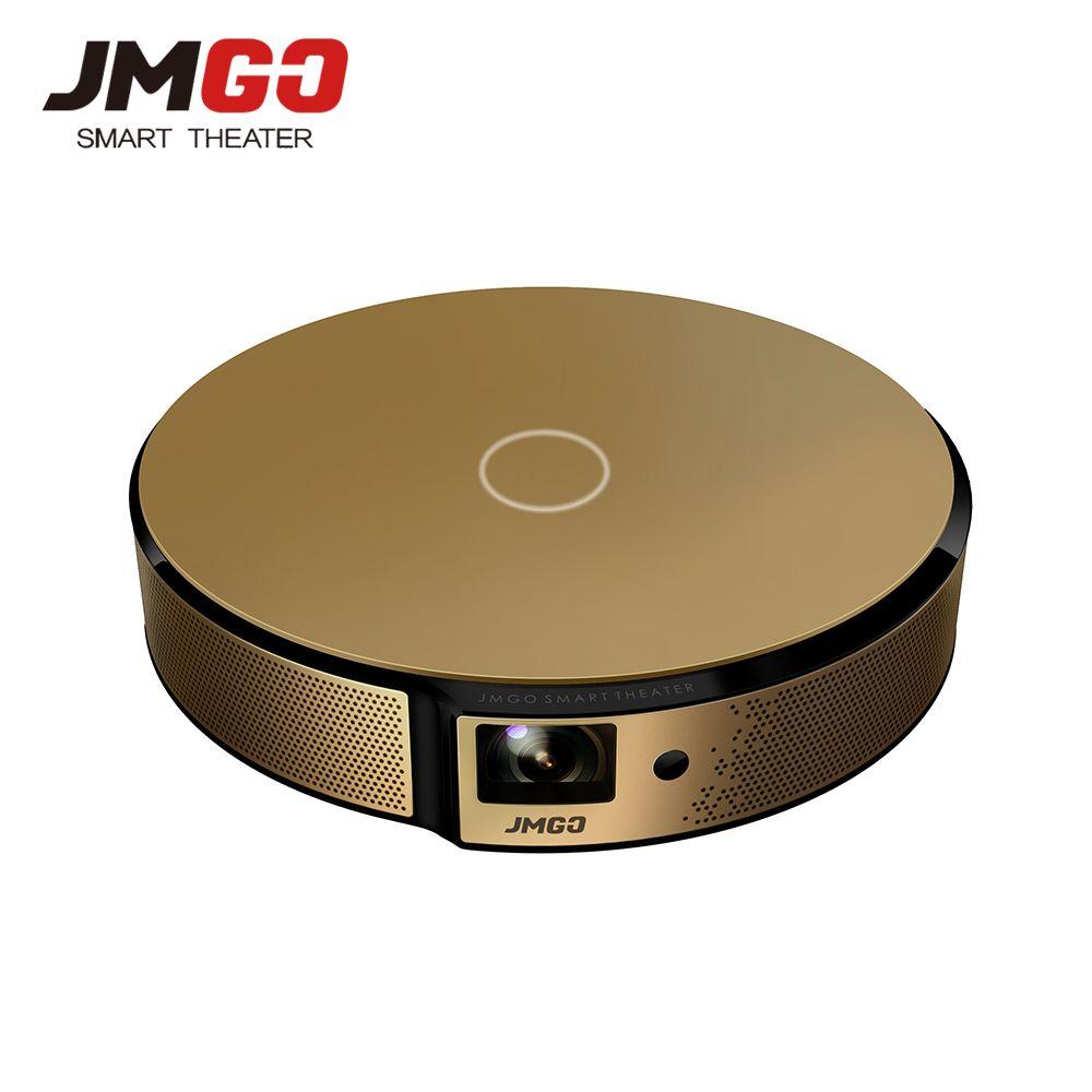 JMGO E8 HD DLP Projector 750 ANSI Lumens Android WIFI Bluetooth Speaker HDMI USB 3D Support 1080P LED TV Video Projecteur Beamer