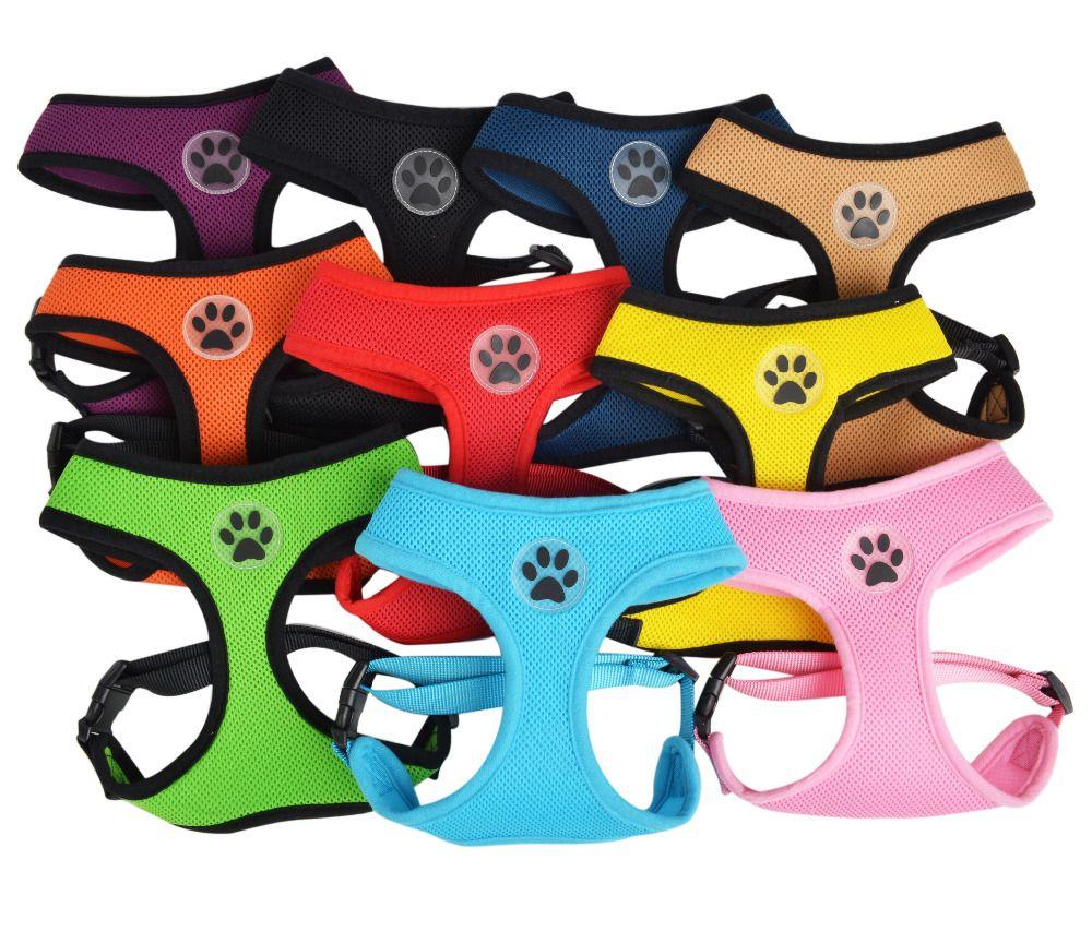 Neue Ankunft Große Hundegeschirr Weiche Weste Super Qualität Starke Große Hundetraining Harness XS bis XL