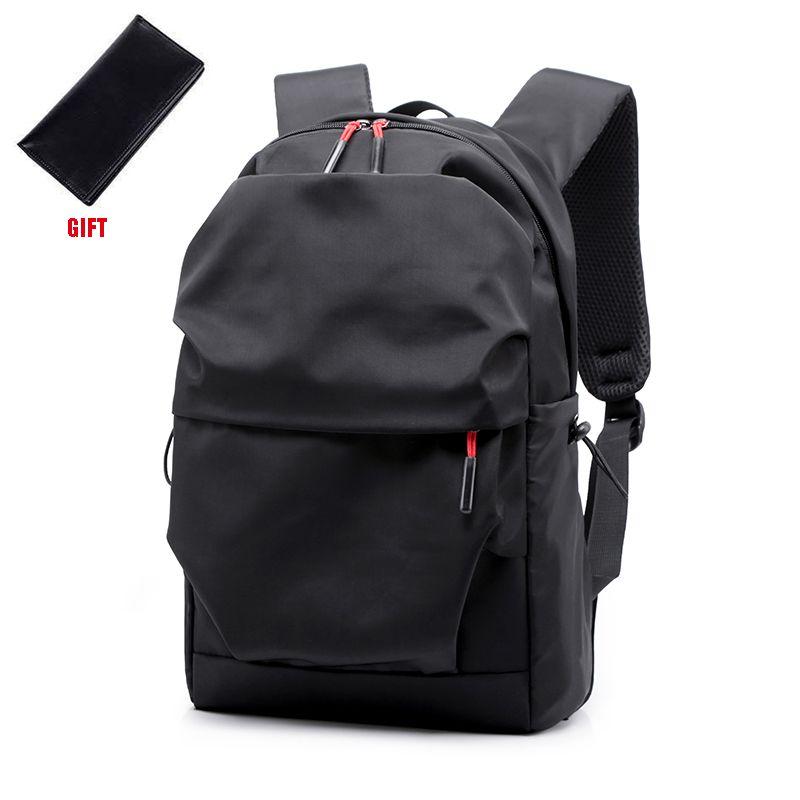 Nouveau hommes sac à dos pour 15.0 pouces sac à ordinateur portable grande capacité cascadeur sacs à dos plissé Style décontracté sac hydrofuge 2019