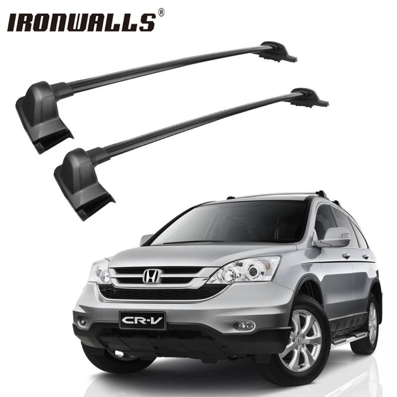 Ironwalls Car Roof Rack Cross Bars For bike Snowboard Rack Luggage Cargo Basket Carrier For Honda CRV 2007 2008 2009 2010 2011