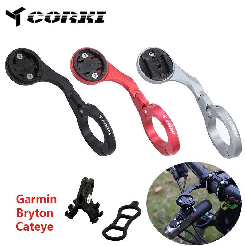 Support de téléphone vélo support de montage guidon compteur de vitesse pour GARMIN Edge1000 bryton CatEye GoPro support horloge de montage prolongée