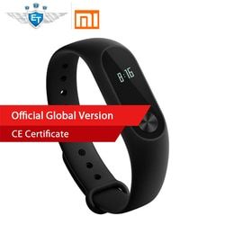 Global Version Xiaomi MiBand 2 Mi band 2 Smart band Bracelet Heart Rate Monitor Fitness Tracker Touchpad OLED for IOS & Android
