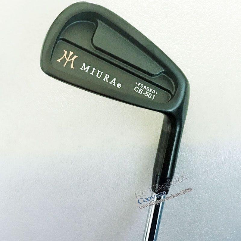 Neue Cooyute Golf clubs MIURA CB-501 GESCHMIEDET Schwarz Golf eisen set 4-9 p irons Clubs mit NSPRO 950 Stahl Golf welle Kostenloser versand