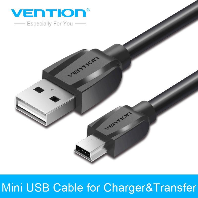 Tions Mini USB Kabel 1 mt 1,5 mt 2 mt Mini USB zu USB Daten ladegerät Kabel für Handy MP3 MP4 GPS Kamera HDD Handy