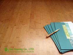 Indoor bambusparkett Mit Semi-matt, Carbonized Farbe, 1020x128x15mm Bambus etagen, Wasserdichte Bambusparkett