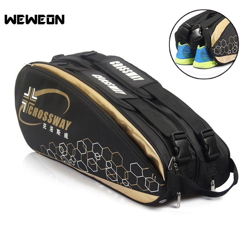 2018 neue Professionelle Schläger Sporttasche Badminton Paket Rucksack Tennis Rucksack Tennisschläger Tasche Badminton Schläger Taschen