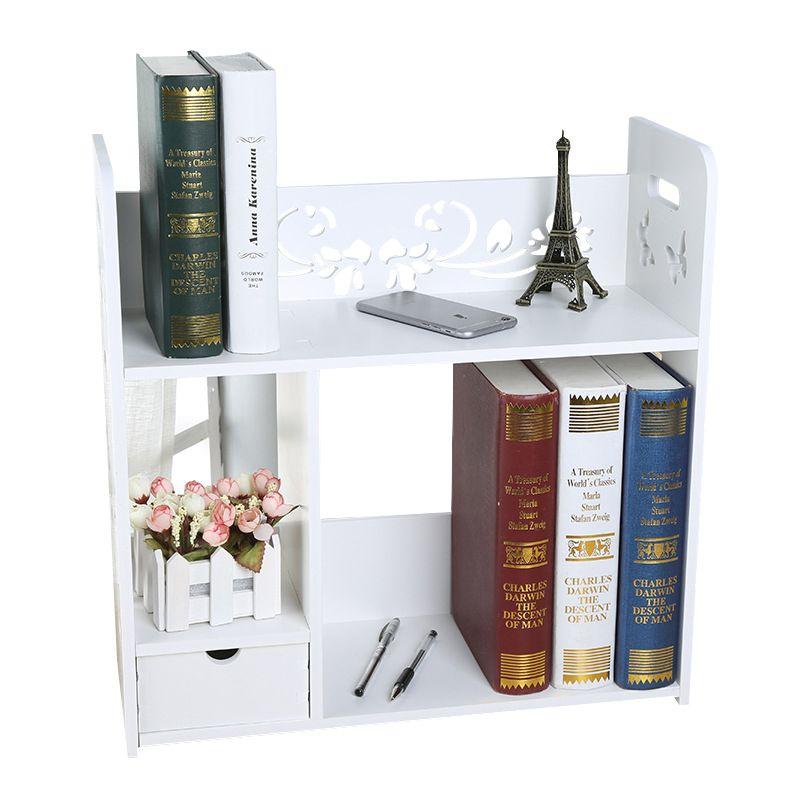 Book And Magazine Storage Shelf Househpld Decor Multifunction Sundries Storage Racks Cosmetic Figuirnes Storage Dispaly Shelf