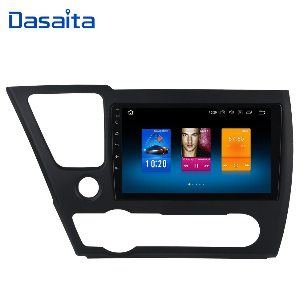 Android 8.0 2din Car Radio GPS for Honda Civic US Version 2013 2014 2015 with 9