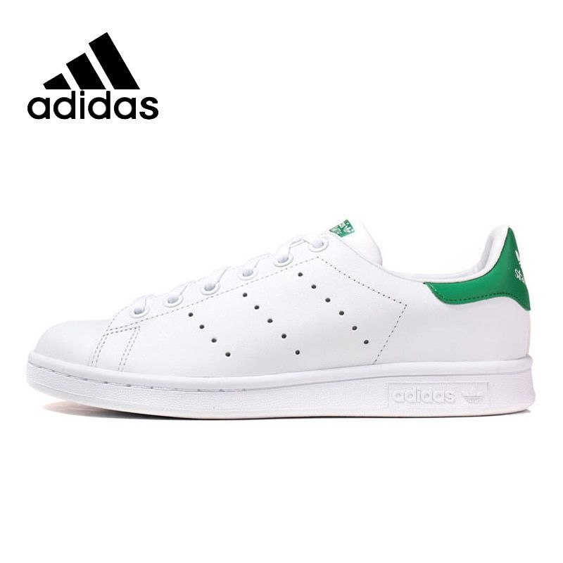 Original New Arrival Authentic ADIDAS Women Stan Smith Skateboarding Shoes Breathable Stability High Quality Lightweight