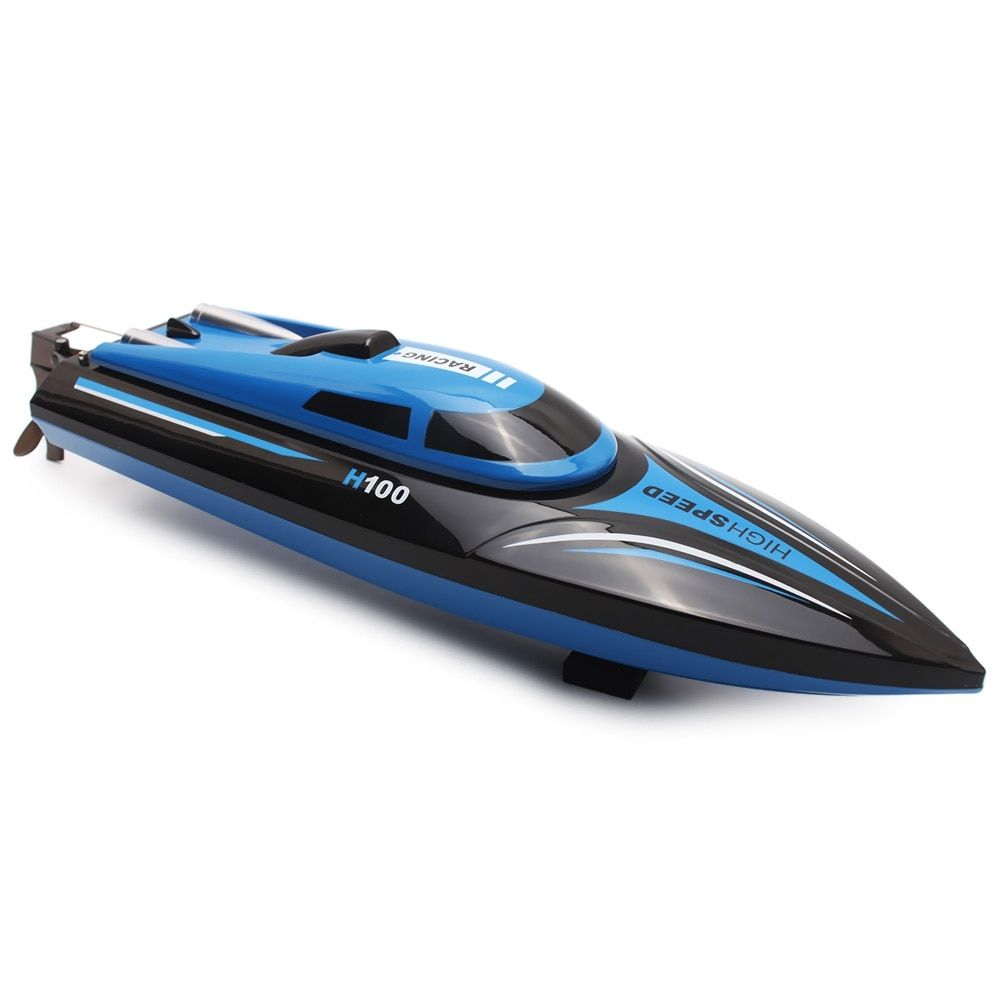 New Arrival Skytech H100 RC Boat <font><b>2.4GHz</b></font> 4 Channel High Speed Racing Remote Control Boat with LCD Screen
