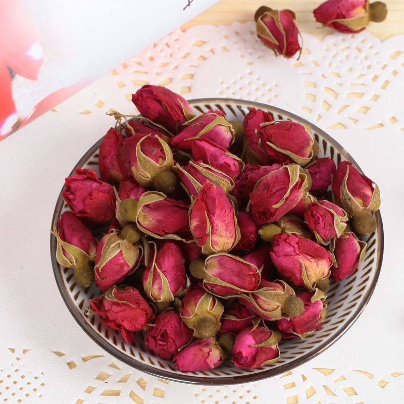 NEW Natural 1bag(250g) Dried Rose Flower Rose bud Rose  Girl  Women gift