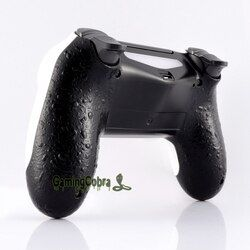 Textured Black Comfortable Back Housing Cover for PS4 Slim Pro Game Controller JDM-040 JDM-050