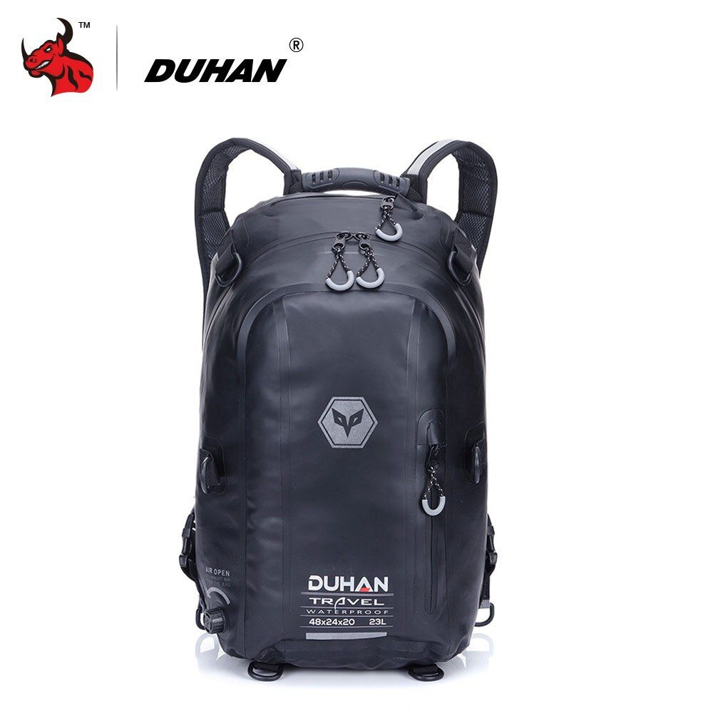 DUHAN Motorcycle Bag Waterproof Backpack Moto Bag Motorcycle Helmet Backpack Luggage Moto Travel Bag Motorcycle Racing Backpack