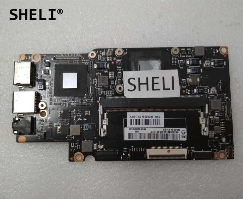 SHELI For Lenovo Yoga 13 Motherboard with I7-3537U processor 90002034