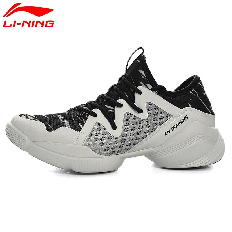 Li-Ning Women's Quick Training Shoes Cushion Flexible Dance Shoes Breathable Sneakers Comfort LiNing Sports Shoes AFHM026 XYA038
