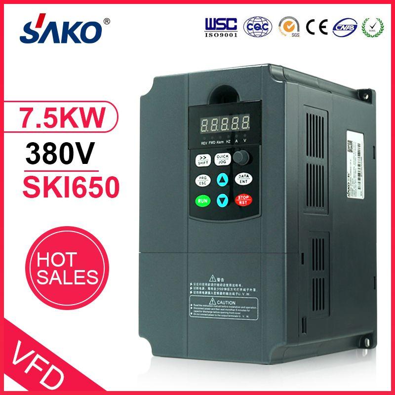 Sako VFD 380 V 7.5KW Solar Photovoltaik Inverter Power Controller für Pumpe Verwenden