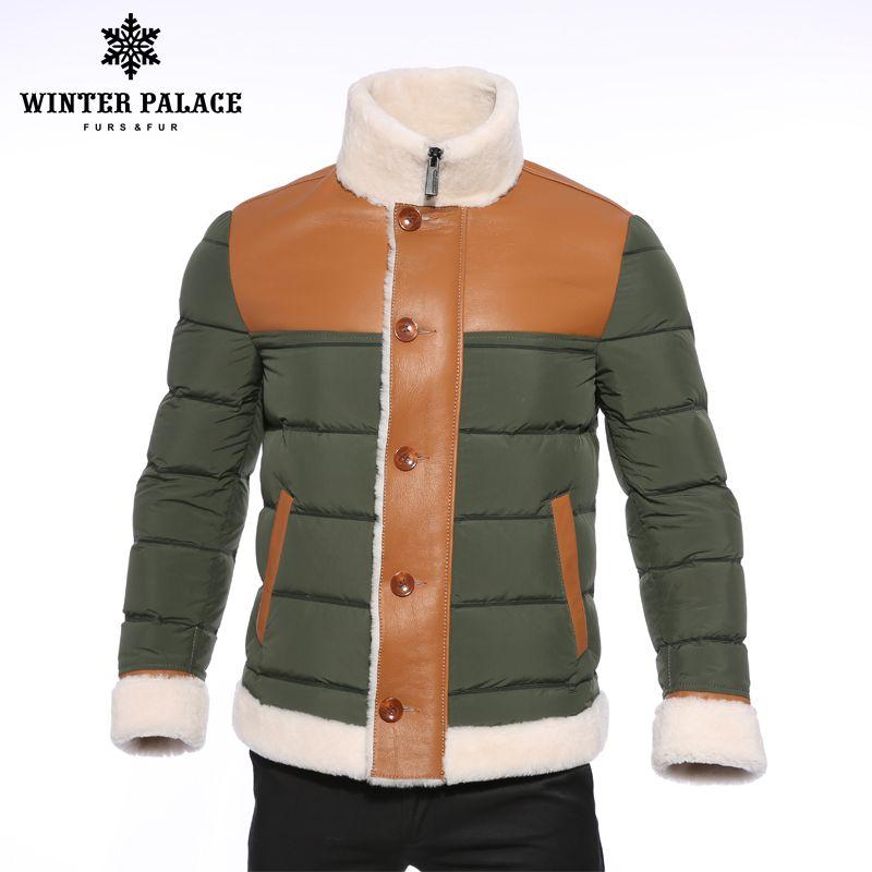 2018 Winter down jacket ArmyGreen duck down jacket men Upscale winter jacket men fashion men down jacket men winter