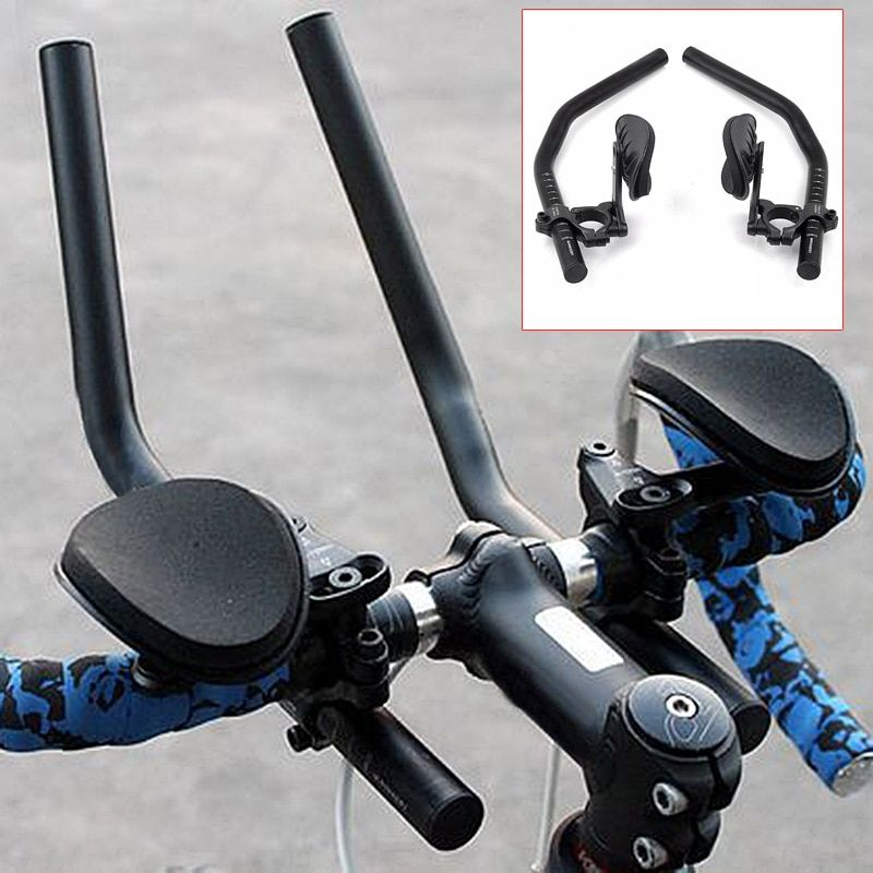 Bicycle Rest handlebar For Road Bikes Aero Position Clip On Triathlon Bars 88 B2Cshop