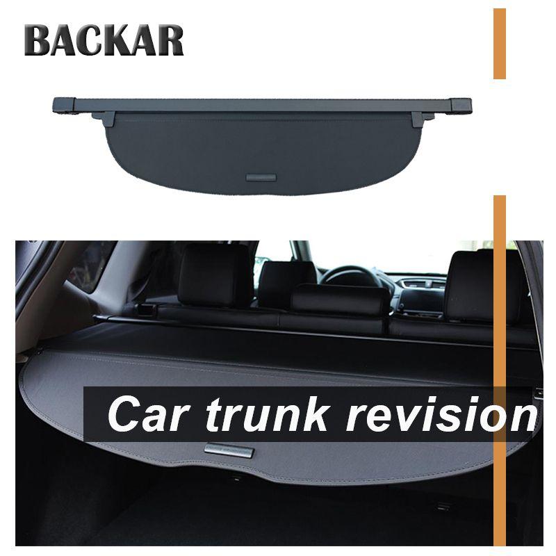 Backar 1set For Honda CRV 2017 2018 Car Rear Trunk Cargo Cover Car-styling Black Security Shield Shade Auto Car Accessories
