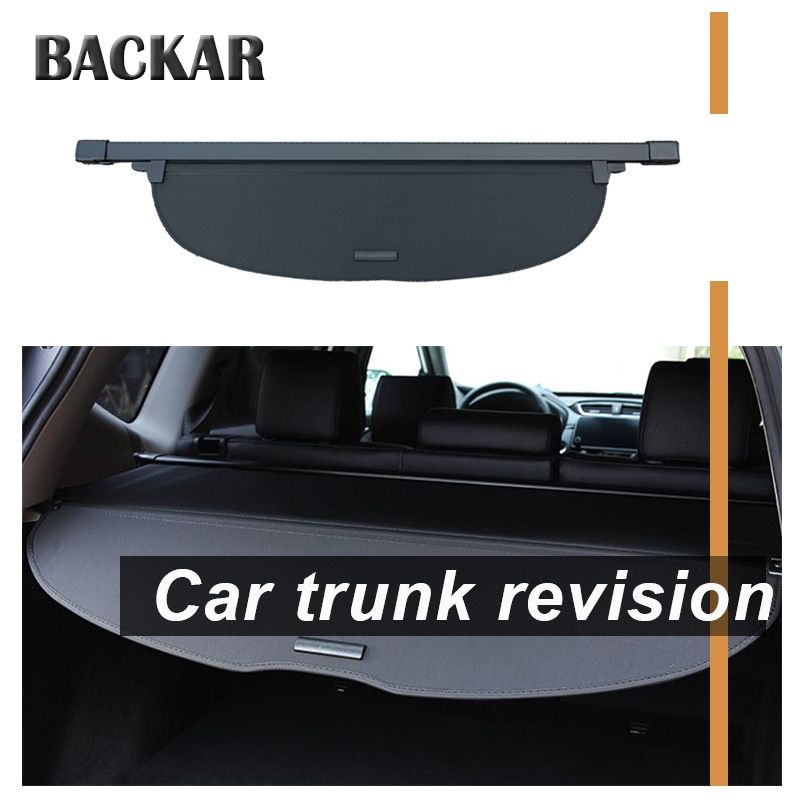 Backar 1set For Honda CRV 2017 2018 Car Rear Trunk Cargo Cover Car-styling Black Security Shield Shade Auto Car Accessories