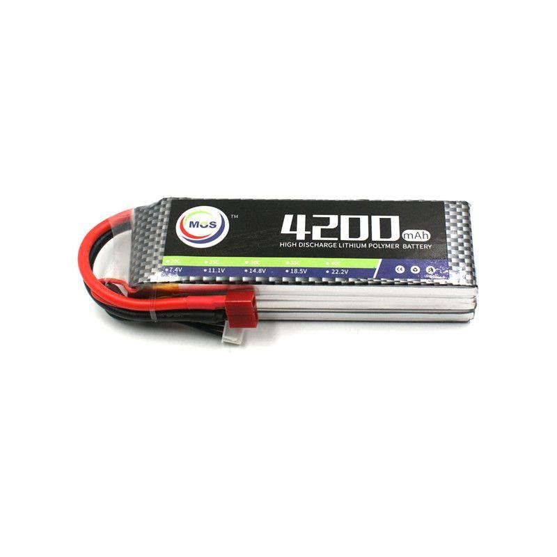 MOS 3 s 11,1 v 4200 mah 35c RC lipo batterie für RC Flugzeug Drone AKKU Kostenloser versand