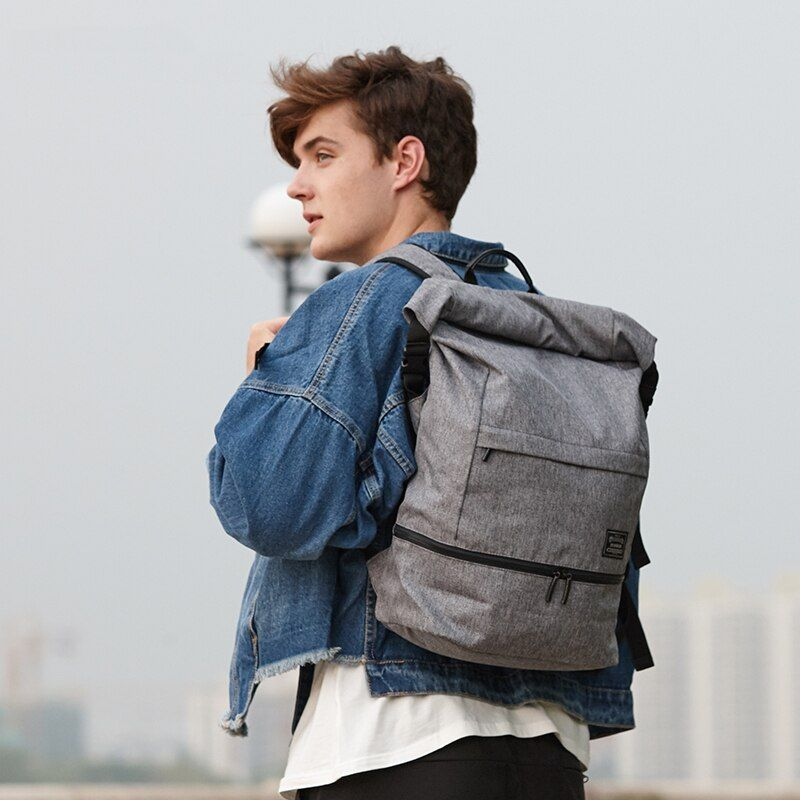15.6 pouces sac à dos pour ordinateur portable hommes voyage sac à dos étanche Anti-vol sacs à dos collège étudiants sac d'école pour adolescent garçons