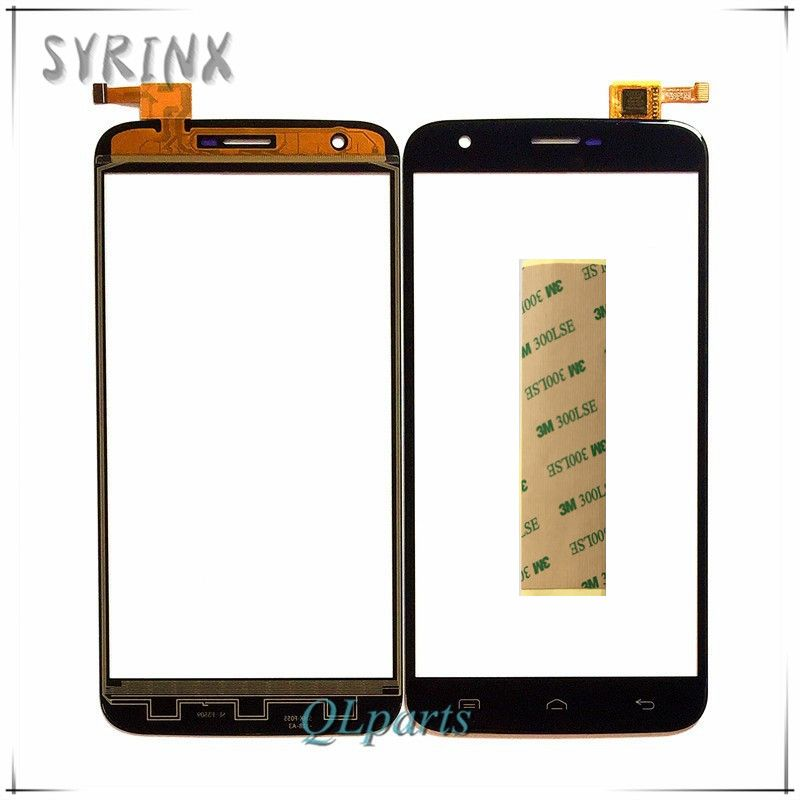 Syrinx With Tape Touch Screen For Doogee Valencia 2 Y100 Plus Touch Panel Digitizer Front Glass Sensor Touchscreen Free Shipping