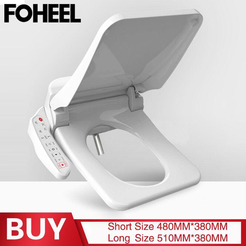 FOHEEL platz smart wc sitz abdeckung elektronische bidet wc schalen sitz heizung sauberen, trockenen intelligente wc deckel für bad