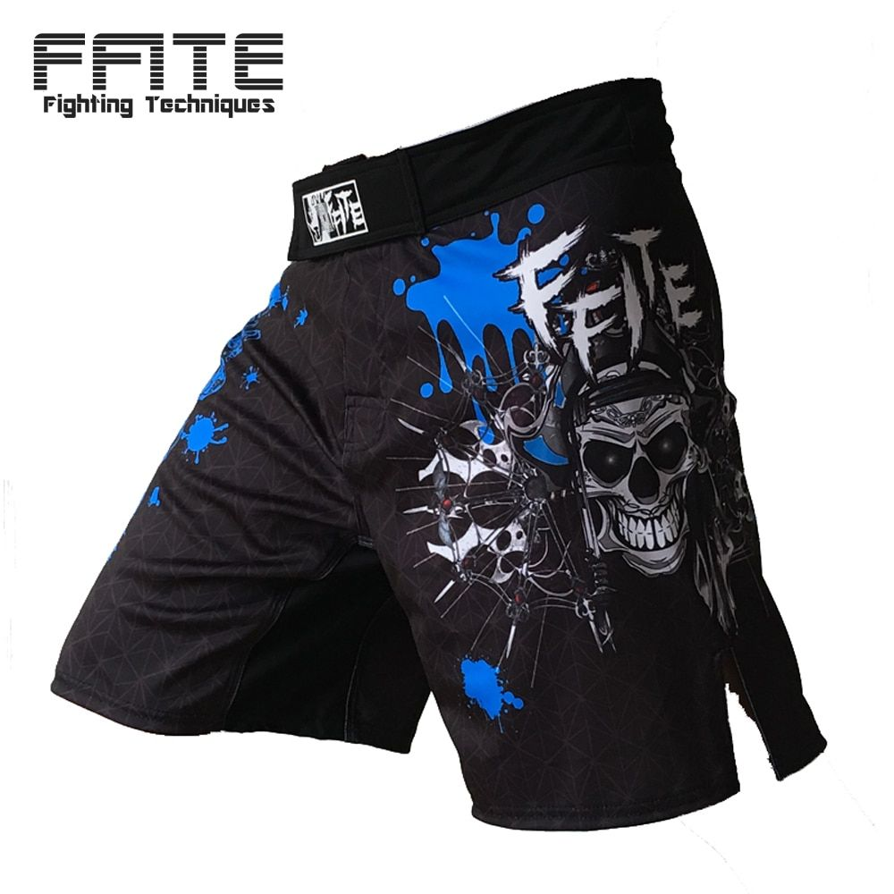 FFITE boxing pants MMA fitness men shorts Fight cheap Short black KickBoxing MuayThai <font><b>training</b></font> thai boxing shorts mma Trunks
