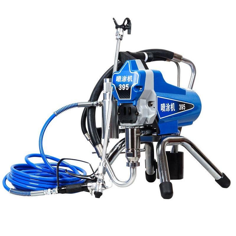 Profesional Elektrische Airless Farbe Sprayer KOLBEN Malerei Maschine 390 395 mit 2200 watt motor fabrik verkauf direkt