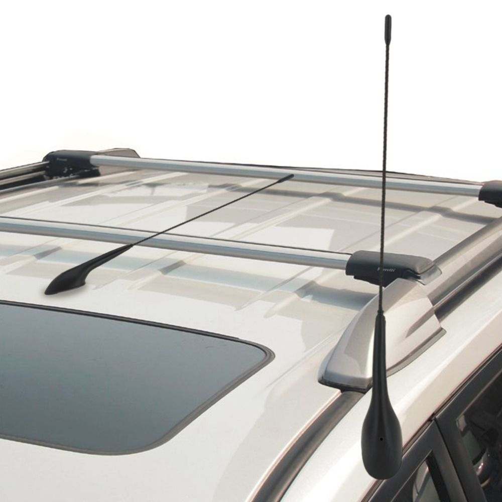 New Auto Car Bus Top Roof Mount AM FM Radio Antenna Aerial Base Kit Black Car Digital Automobile Aerial FM Aerial Car Styling